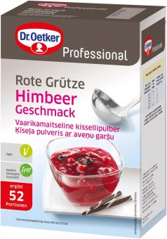 dr oetker rote gr tze himbeer dessertpulver 1kg online kaufen bei lieferello. Black Bedroom Furniture Sets. Home Design Ideas
