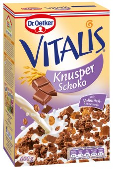 dr oetker vitalis knusper schoko vollmilch 600g online kaufen bei lieferello. Black Bedroom Furniture Sets. Home Design Ideas