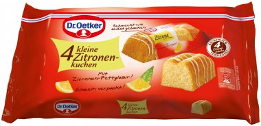 dr oetker kleine zitronenkuchen kuchen 140g online kaufen bei lieferello. Black Bedroom Furniture Sets. Home Design Ideas