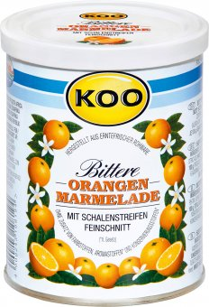 koo bittere orangen marmelade konfit re 450g online kaufen bei lieferello. Black Bedroom Furniture Sets. Home Design Ideas