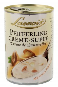 lacroix pfifferling creme suppe 400ml online kaufen. Black Bedroom Furniture Sets. Home Design Ideas