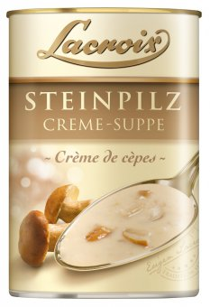 lacroix steinpilz creme suppe in der dose 400ml. Black Bedroom Furniture Sets. Home Design Ideas