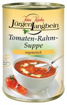langbein tomaten rahm suppe vegetarisch 400g online. Black Bedroom Furniture Sets. Home Design Ideas