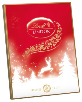 lindt lindor adventskalender weihnachtskalender 290g online kaufen bei lieferello. Black Bedroom Furniture Sets. Home Design Ideas