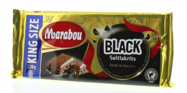 marabou black saltlakrits tafelschokolade 250g online kaufen bei lieferello. Black Bedroom Furniture Sets. Home Design Ideas