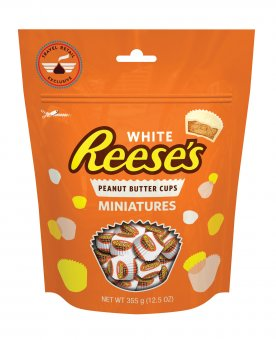 reese 39 s peanut butter cups miniatures white. Black Bedroom Furniture Sets. Home Design Ideas