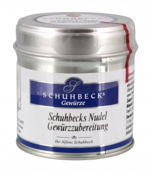 schuhbeck 39 s nudel gew rzzubereitung gew rzmix 50g. Black Bedroom Furniture Sets. Home Design Ideas