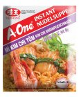 A-One Instant Nudelsuppe Kim Chi Shrimps 85g
