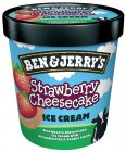 Ben & Jerry's Strawberry Cheese Cake Eis TK Fairtrade 500ml