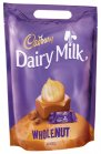 Cadbury Dairy Milk Whole Nut Mini-Schokoriegel mit Nüssen 36St/400g