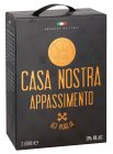 Casa Nostra Appassimento Puglia IGT Rotwein 13% vol Bag-in-Box 3,0l