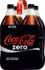 Coca-Cola Zero 4er-Pack PET 1,5l