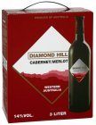 Diamond Hill Cabernet Merlot, Rotwein trocken 14% vol Bag-in-Box 3,0l