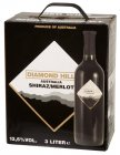 Diamond Hill Shiraz Merlot, Rotwein trocken 13,5% Vol. 3-l-Bag in Box