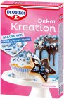 Dr.Oetker Dekor Kreation Blauer Mix Streusel Backdekor 60g