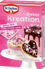Dr.Oetker Dekor Kreation Rosa Mix Streusel Backdekor 60g