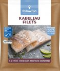 Followfish Kabeljaufilets Natur TK 400g