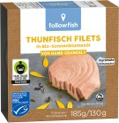 Followfish Thunfischfilets in Sonnenblumenöl 185g