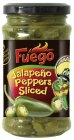 Fuego Jalapeno Pepper sliced Antipasti 225g/125g