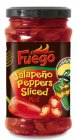Fuego Jalapeno Peppers Sliced rot Pfefferschoten 225g