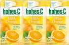 Hohes C Milde Orange Saft 3St je 0,2l