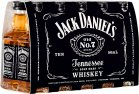 Jack Daniel's Tennessee Straight Bourbon Whiskey 40% Vol. 10x0,05l/0,5l