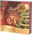 Lindt Weihnachts-Tradition Pralinés ohne Alkohol 43g