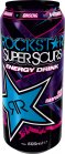 Rockstar Super Sours Blue Rasperry Energy Drink 0,5l