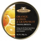 Simpkins Drops Orange, Lemon & Grapefruit Bonbons 200g