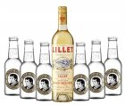 Lillet & Thomas Henry Aperitif Blanc 17% Vol. & Elderflower Tonic Sommeraperitif-Set 1St