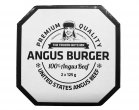 The Frozen Butcher Angus Beef Burger-Patties TK 2x125g/250g