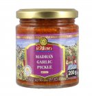 Truly Indian Madras Garlic Pickle eingelegter Knoblauch 200g