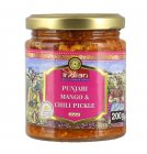 Truly Indian Punjabi Mango & Chili Pickle Würzzubereitung 200g