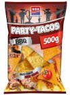 XOX Party-Tacos Barbecue 500g Mais-Snack mit Barbecue-Geschmack