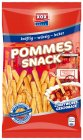 XOX Pommes Snack Currywurst 125g