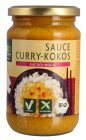 biozentrale Bio Sauce Curry Kokos 340ml
