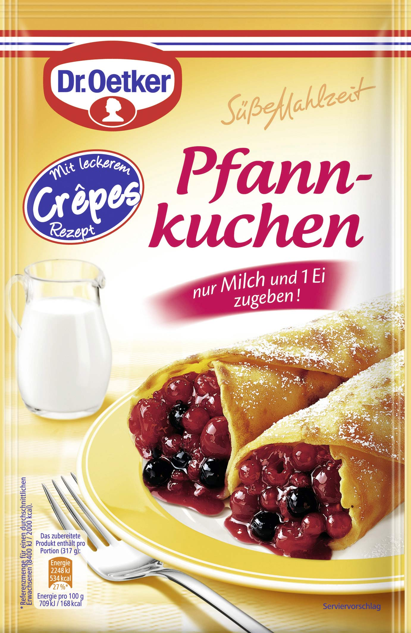 dr oetker s e mahlzeit pfannkuchen fertiggericht 190g online kaufen bei lieferello. Black Bedroom Furniture Sets. Home Design Ideas