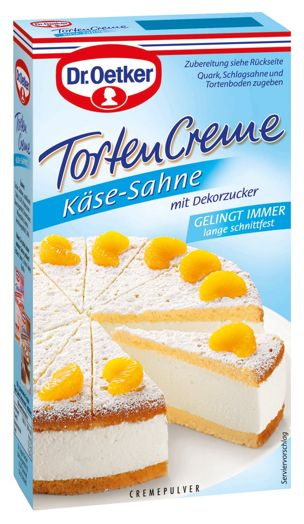 dr oetker k se sahne tortencreme cremepulver 150g online kaufen bei lieferello. Black Bedroom Furniture Sets. Home Design Ideas