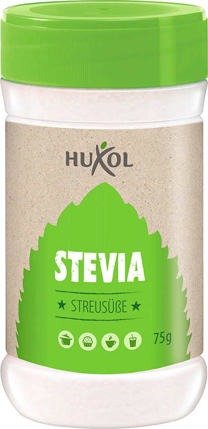 huxol stevia streus e s ungsmittel 75g online. Black Bedroom Furniture Sets. Home Design Ideas