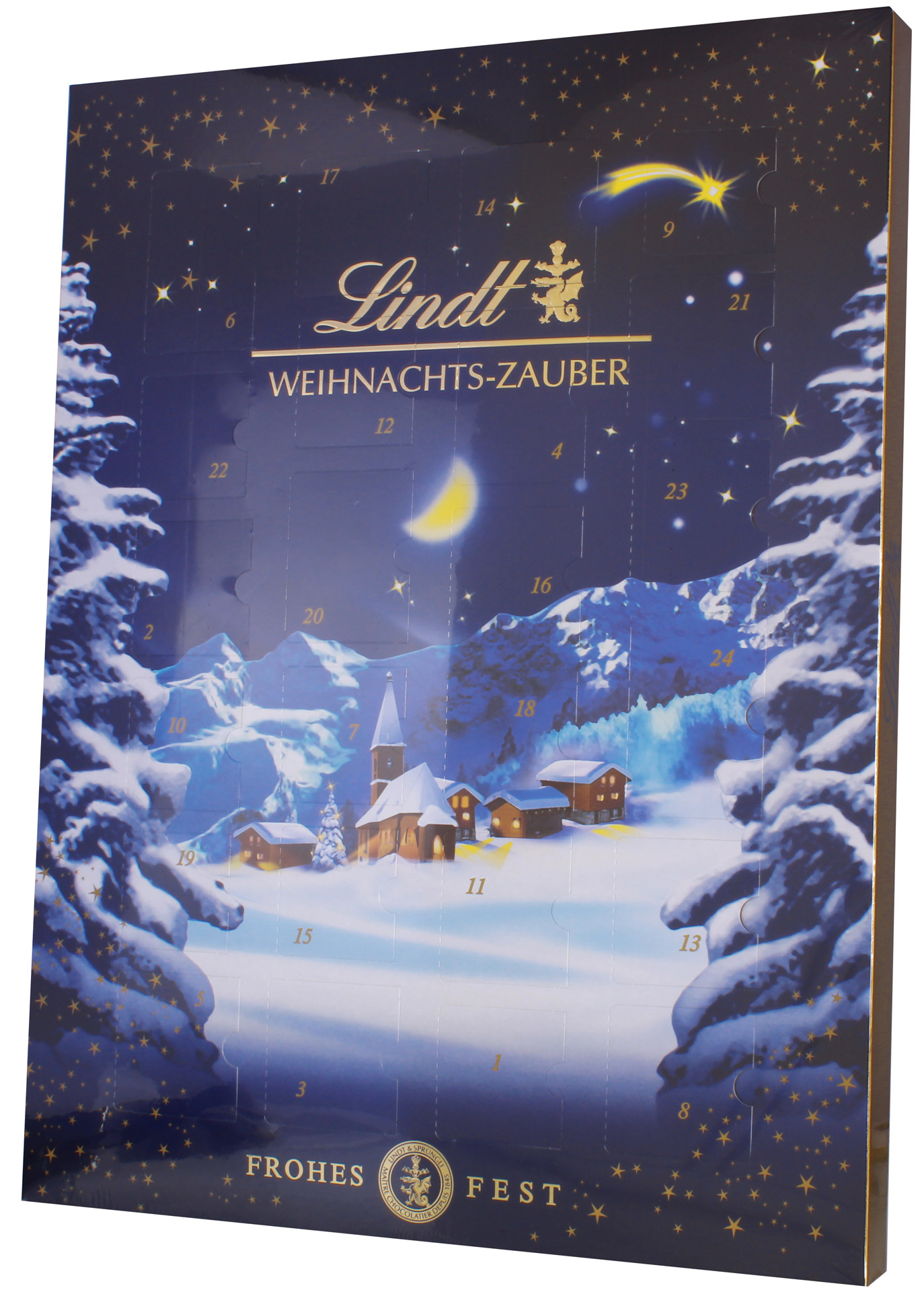 lindt weihnachtszauber adventskalender minis schokolade 265g online kaufen bei lieferello. Black Bedroom Furniture Sets. Home Design Ideas