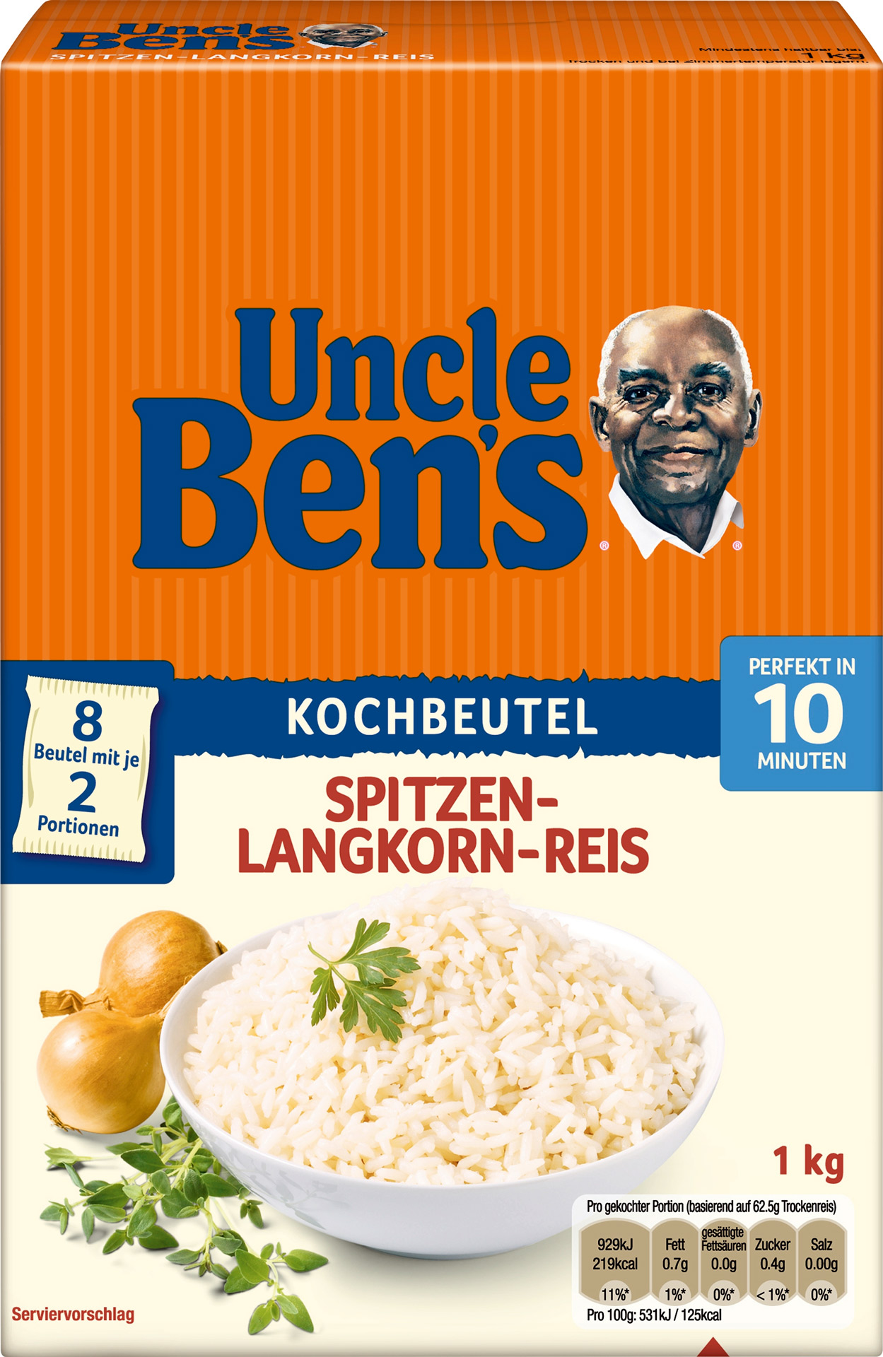 Uncle Bens Reis Kochen