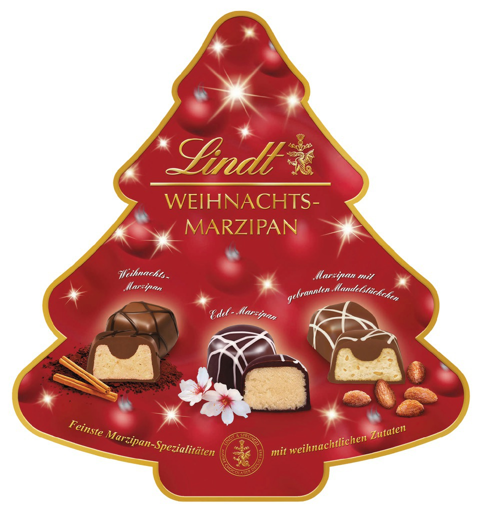 lindt weihnachts marzipan pralinen 175g online. Black Bedroom Furniture Sets. Home Design Ideas